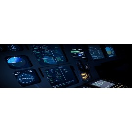 Full Motion Airbus A320 Simulatore di Volo Xplorer Cockpit Flight Simulator