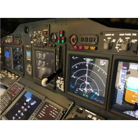 Solo Cockpit Boeing 737 Simulatore di Volo Cockpit Flight Simulator